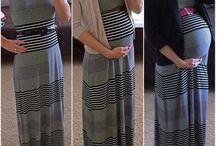 pregnant looks