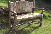 lavičky dřevo