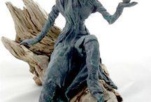 powertex skulptur