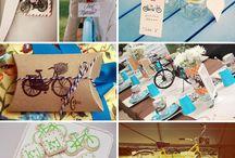 Wedding bike teme
