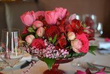Asztaldíszek / válogatás a Wedding Factory saját munkáiból
