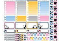 stickers vari / stickers di ogni genere