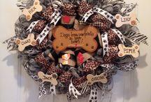 dog wreaths