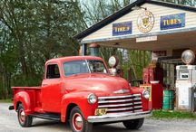 My Favorite Old Trucks / by Barbara Clarke