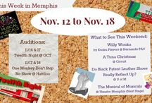 Theatre in Memphis / Information about auditions, plays, and other theatrical happenings in the Memphis, TN area.