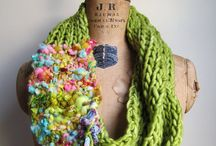 ARTSY KNITTED ITEMS