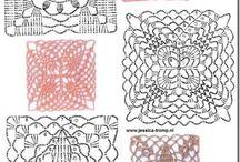 crochet sqyares
