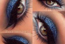 Brown eye beauty makeup / by Cheyenne Autumn