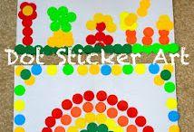 Dot Sticker Art