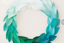 Ombre Paper Projects