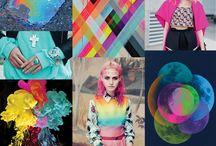Colorsplash / Bereit für den Color Splash des Jahres? Perfekt, denn wir dir jetzt Statement Looks mit wilden Kontrasten und lauten Accessoires ans Herz. Mutige Farbkombis sind der Trend der Stunde! / by frontlineshop