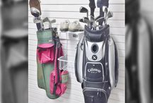 Sports Equipment Storage Ideas by Garageflex / Ideas to help store your sports equipment in your garage.  From bikes and golf clubs, to skateboards and ski gear.  Our storage solutions help you store your sports gear quickly and easily, so its always within reach.
