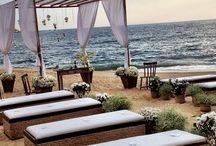 Casamento na Praia / Fotos reais, inspirações e detalhes para um casamento na praia !