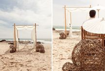 Wedding - Beach wedding! / by Stefania Bowler