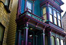 Häuser, Hausfassaden