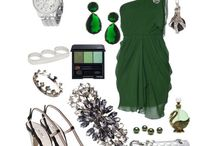Slytherin outfit / A stylish Slytherin look that will make you look super sleek every day at work or on a party.
