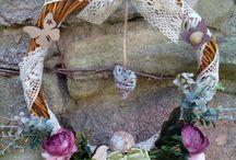 my creative time / summer wreath