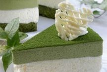 greentea mousse cake