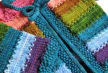 pletené oblečky na miminko