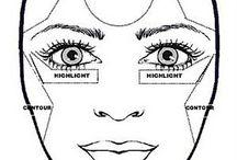 heart  face makeup