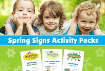 Activity Packs / by Two Little Hands Productions - Home of Signing Time