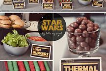 Party: Star Wars / Ideas for a Star Wars themed party for kids or grown ups - lots of DIY ideas and tutorials / by The Crafty Mummy
