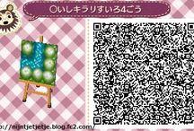River qr code Animal Crossing