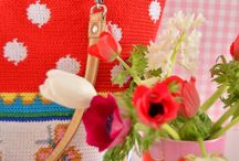 DIY crochet tapestry