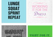 Workout shirt ideas