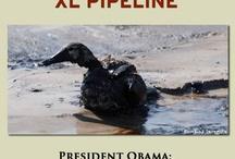 Keystone pipeline / by Jane Yule