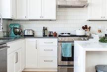 Küche | Kitchen | Living | Interior | / Tolle Einrichtungsideen für Küche und Wohnzimmer