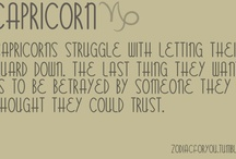Capricorns! / by Jessica Nelson