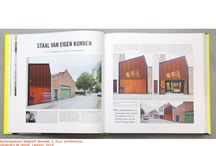 9a - articles & media / articles & media concerning 'architectuuratelier 9a'