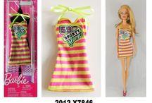 2012 Barbie Doll Fashion Packs