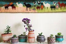 Pottery: Vase & Pots