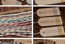 Wooden Tag Ideas  / by ThePlaidBarn
