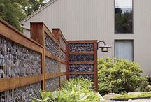 outdoor retaining walls