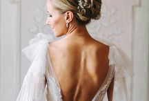Open back wedding dresses / Stunning wedding dresses with open backs