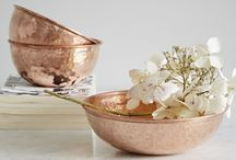 Copper Living / A beautiful and elegant selection of copper homeware products.
