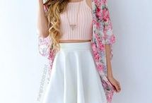 casual outfits with skirt