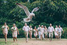 peta + lindsay - real wedding at the boathouse shelly beach / Photography by Rikki Jones Photography