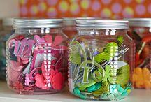 Craft Room Storage: Embellishments / by Vanessa Vander Pol