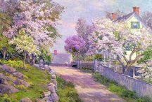 landscapes in art