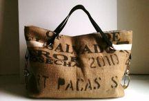 сумки из мешковины