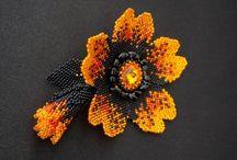 flores en rocallas y delicas