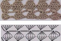 Para pontos de crochet