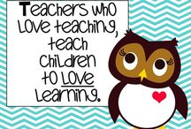 Teaching Inspiration / Teaching inspiration to remind everyone why we must dedicate ourselves to helping children learn.
