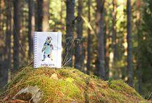 Design themes autumn 2013 by David Marklund / Design themes at PersonligAlmanakk made by David Marklund