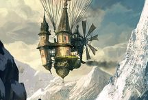Airships in the Sky