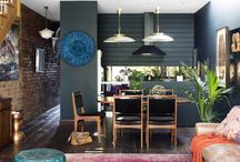 Fitzroy Boho Renovation / An old worker's cottage located in an idyllic cobble stone laneway in Fitzroy has just been transformed into a bohemian luxury pad, by budding author Kirsten Cameron.